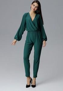 Zielony kombinezon Figl z długimi nogawkami