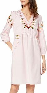 Sukienka amazon.de mini z dekoltem w kształcie litery v w stylu casual