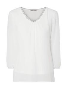 Bluzka Jake*s Collection z długim rękawem z szyfonu