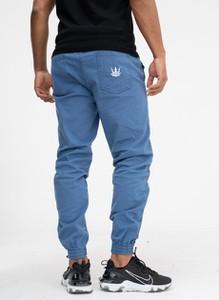 Niebieskie spodnie Jigga Wear z bawełny