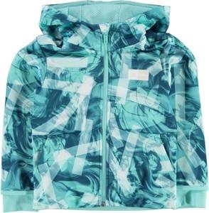 Błękitna kurtka dziecięca Adidas