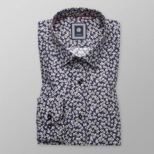 Koszula Willsoor w młodzieżowym stylu z długim rękawem