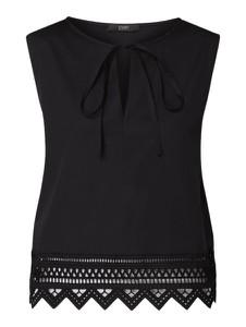 Bluzka Seventy z bawełny bez rękawów w stylu casual