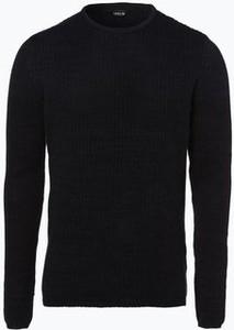 Czarny sweter solid