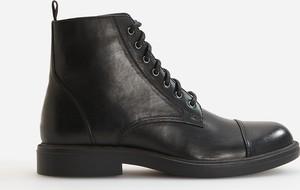 Czarne buty zimowe Reserved