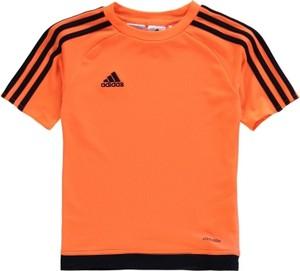 Pomarańczowa koszulka dziecięca Adidas