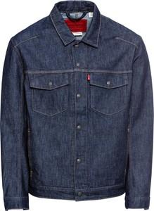 Niebieska kurtka Levis z jeansu