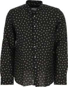 Czarna koszula Paul Smith w młodzieżowym stylu z bawełny