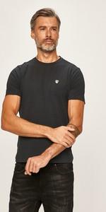 T-shirt Emporio Armani z dzianiny z krótkim rękawem