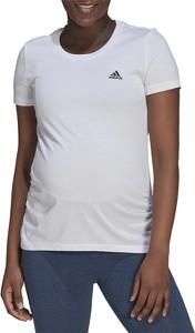 Bluzka Adidas w sportowym stylu z krótkim rękawem