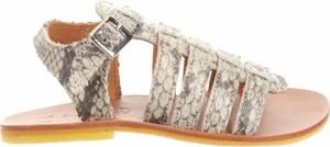 Buty dziecięce letnie Eureka z klamrami dla dziewczynek