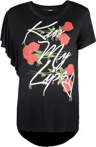 T-shirt Guess z tkaniny w młodzieżowym stylu