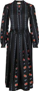 Sukienka Tory Burch z jedwabiu