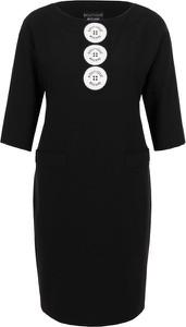 Sukienka Moschino w stylu casual z długim rękawem z tkaniny