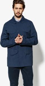 Granatowa kurtka Timberland w stylu casual