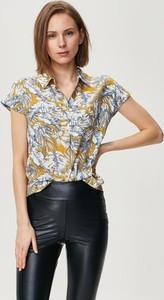 Koszula FEMESTAGE Eva Minge z tkaniny z krótkim rękawem