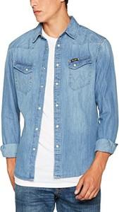 Błękitna koszula wrangler