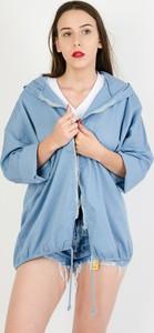 Niebieska kurtka Olika w stylu casual