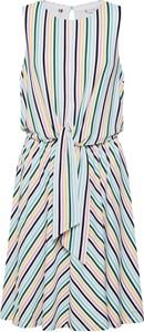 Sukienka Tommy Hilfiger bez rękawów w stylu casual z tkaniny