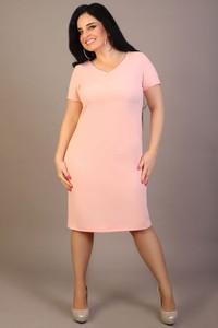 Sukienka Oscar Fashion z krótkim rękawem midi