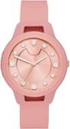 PUMA Damski Zegarek RESET V1 Na Silikonowym Pasku Różowy