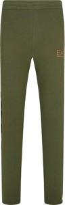 Zielone spodnie sportowe Emporio Armani