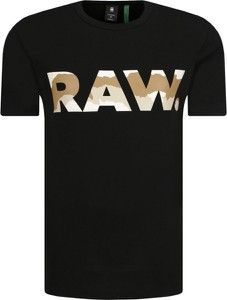 Czarny t-shirt G-Star Raw