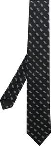 Czarny krawat Dolce & Gabbana