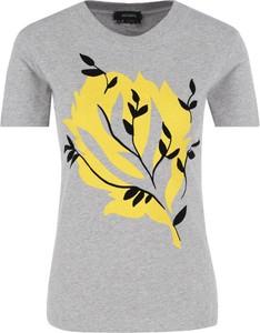 T-shirt Max & Co. z okrągłym dekoltem w młodzieżowym stylu z krótkim rękawem