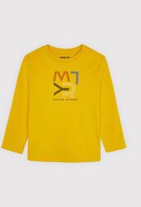 Żółta koszulka dziecięca Mayoral