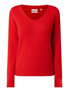 Czerwony sweter Christian Berg Women w stylu casual