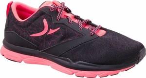 Fioletowe buty sportowe domyos w sportowym stylu sznurowane