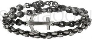 Silverado bardzo interesująca męska bransoleta z łańcucha - 77-ba625