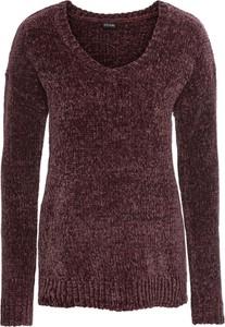 Granatowy sweter bonprix bodyflirt