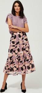 Spódnica Moodo w stylu boho midi