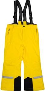 Żółte spodnie dziecięce LEGO Wear