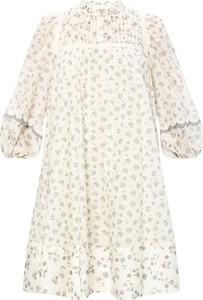 Sukienka SEE BY CHLOE z bawełny z długim rękawem