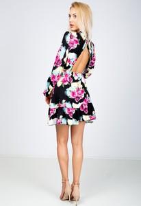 Sukienka Zoio z długim rękawem mini oversize