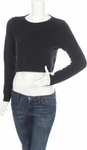 Granatowa bluzka JoJo Maman Bébé w stylu casual z okrągłym dekoltem