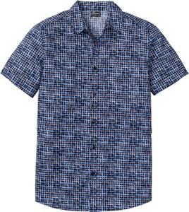 Niebieska koszula bonprix RAINBOW w stylu casual z krótkim rękawem
