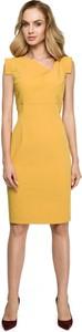 Sukienka Style z krótkim rękawem midi ołówkowa