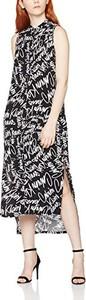 Sukienka Calvin Klein z okrągłym dekoltem oversize maxi