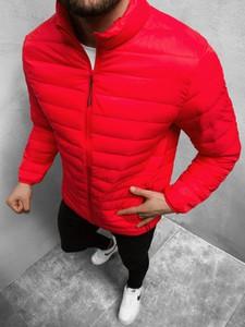 Czerwona kurtka ozonee.pl krótka w stylu casual
