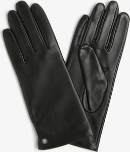 Czarne rękawiczki Roeckl