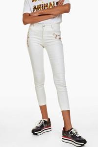 32dc913663a49 desigual spodnie - stylowo i modnie z Allani