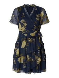 Granatowa sukienka Vero Moda w stylu casual