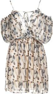 Sukienka Multu mini na ramiączkach w stylu casual