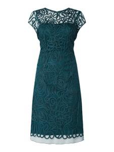 Sukienka Luxuar z krótkim rękawem