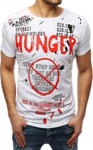 T-shirt Dstreet z nadrukiem z krótkim rękawem z bawełny