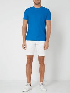 Niebieska bluzka BOSS Casual z bawełny